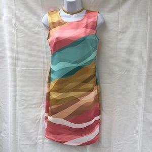 30% OFF new Venus multicolor bodycon dress medium